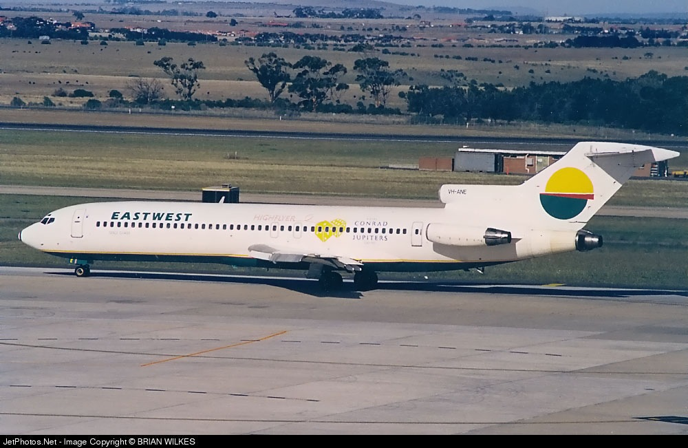 VH-ANE - Boeing 727-277(Adv) - East-West Airlines