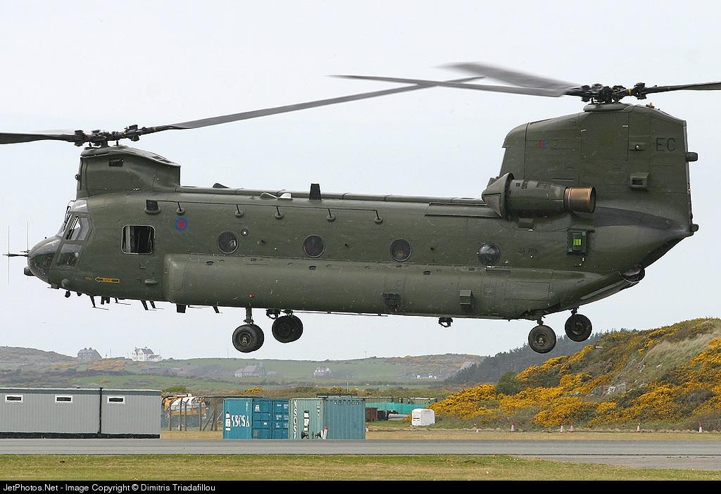 ZA708 - Boeing Chinook HC.2 - United Kingdom - Royal Air Force (RAF)