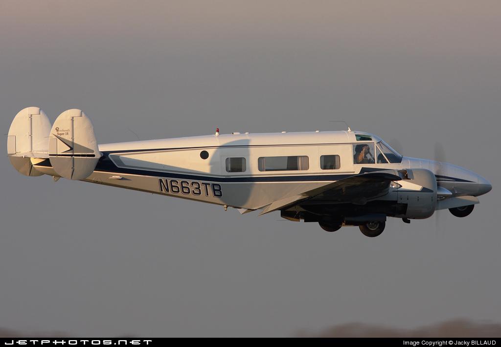 N663TB - Beech H18 - Private