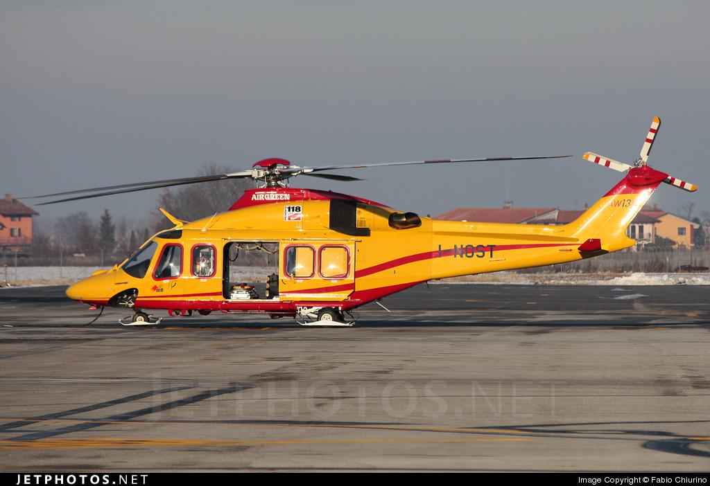 I-NOST - Agusta-Westland AW-139 - Air Green