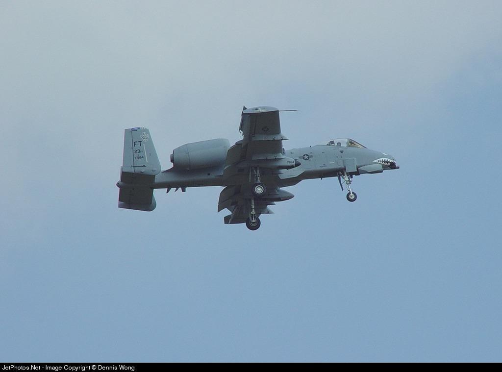 81-0964 - Fairchild A-10A Thunderbolt II - United States - US Air Force (USAF)