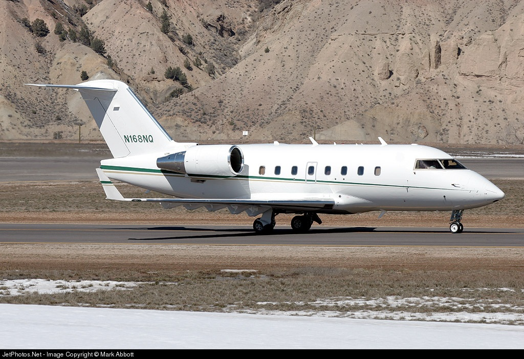N168NQ - Bombardier CL-600-2B16 Challenger 604 - Private