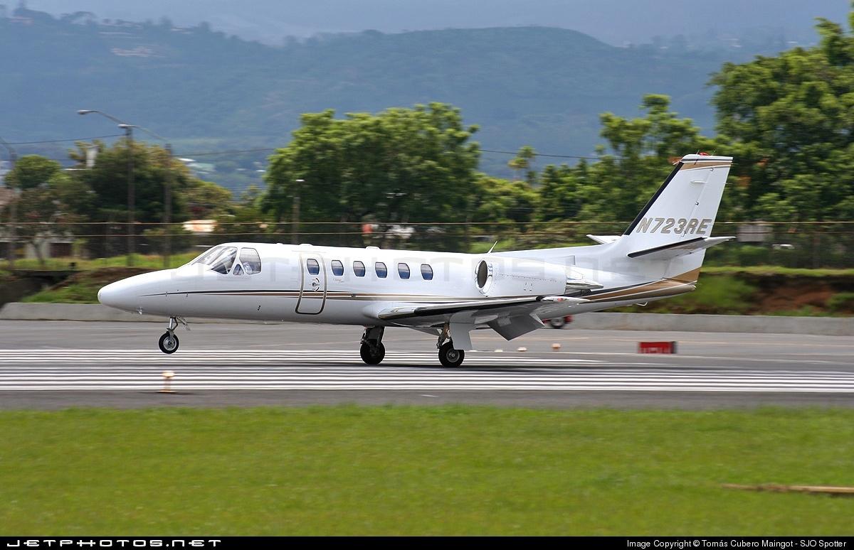 N723RE - Cessna 550 Citation II - Private