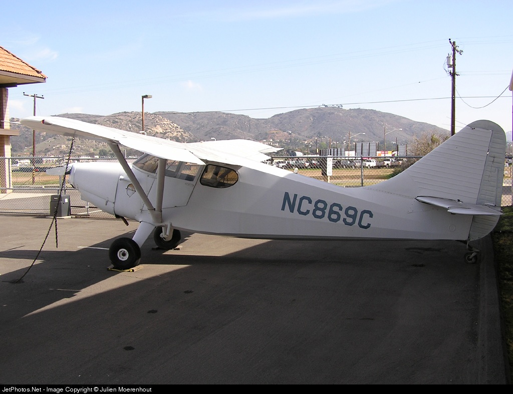 N869C - Stinson 108-3 Voyager - Private