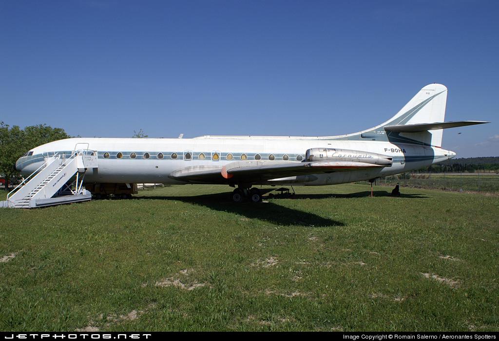 F-BOHA - Sud Aviation SE 210 Caravelle III - Air France