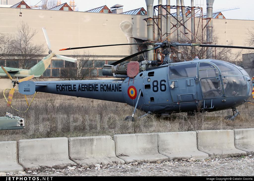 86 - IAR-316B - Romania - Air Force