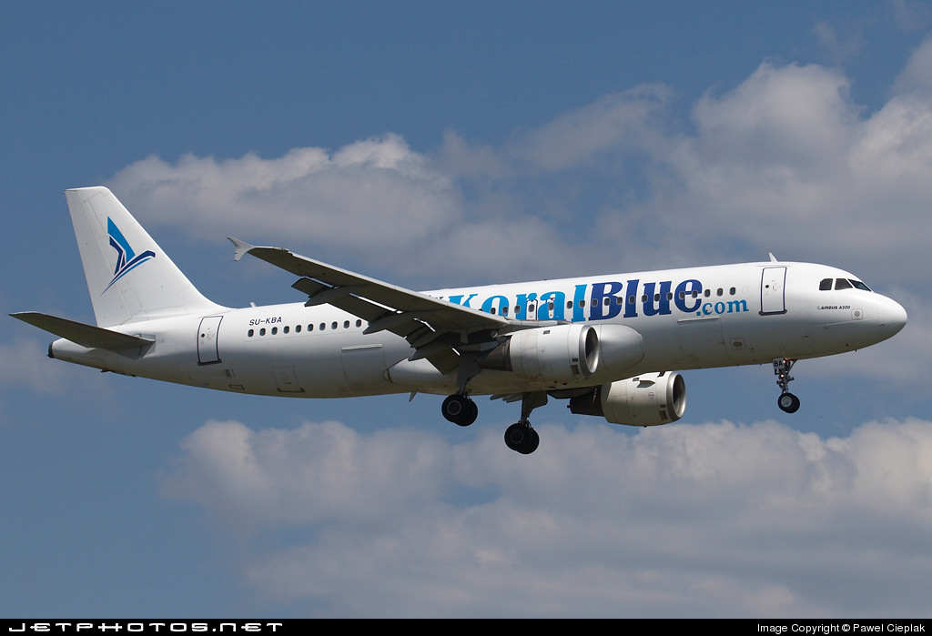 SU-KBA - Airbus A320-214 - Koral Blue Airlines