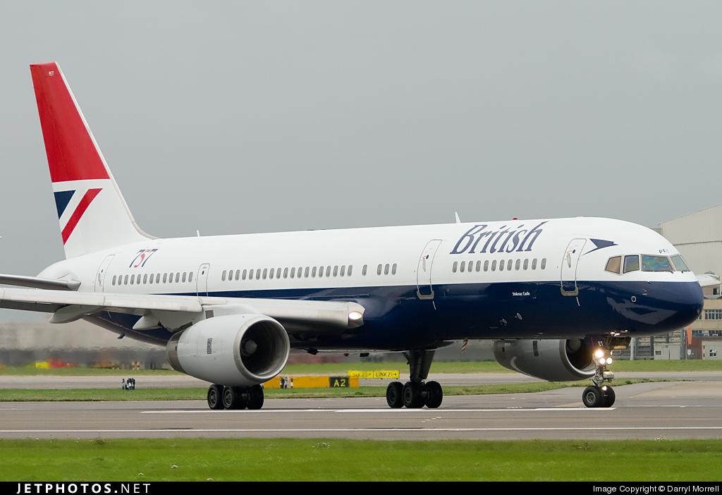 G-CPET - Boeing 757-236 - British Airways