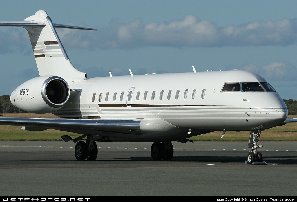 N818TS - Bombardier BD-700-1A10 Global Express - Private