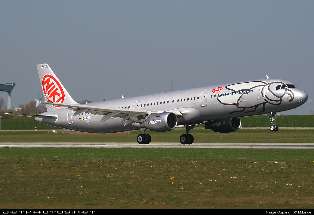 D-AVZI - Airbus A321-211 - Niki