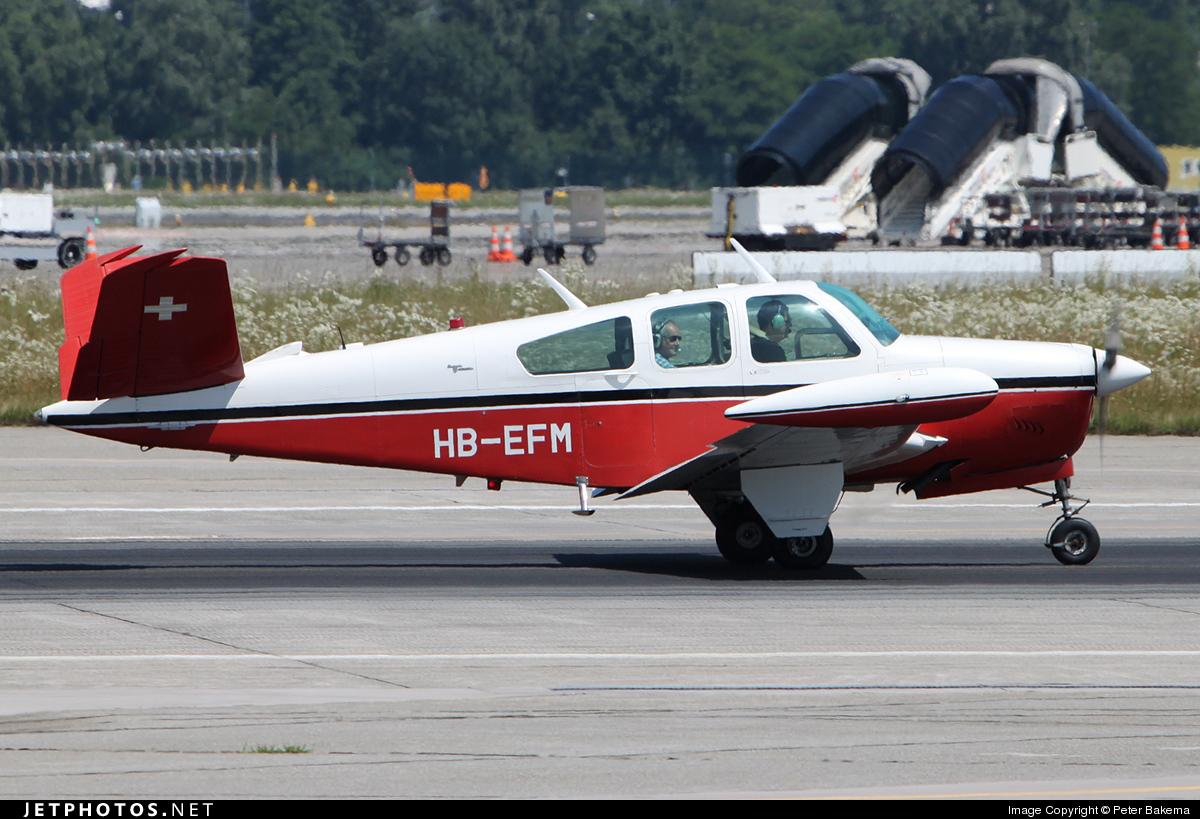 HB-EFM - Beechcraft V35 Bonanza - Private