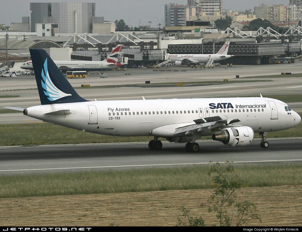 CS-TKK - Airbus A320-214 - SATA International