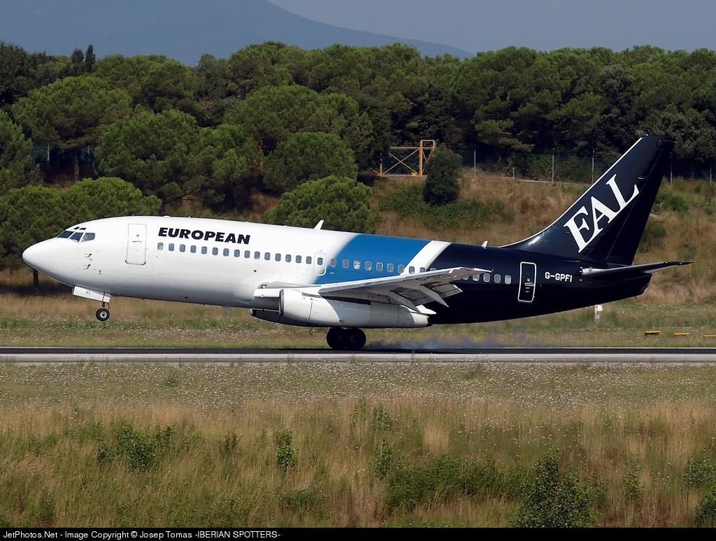 G-GPFI - Boeing 737-229(Adv) - European Aviation (EAL)