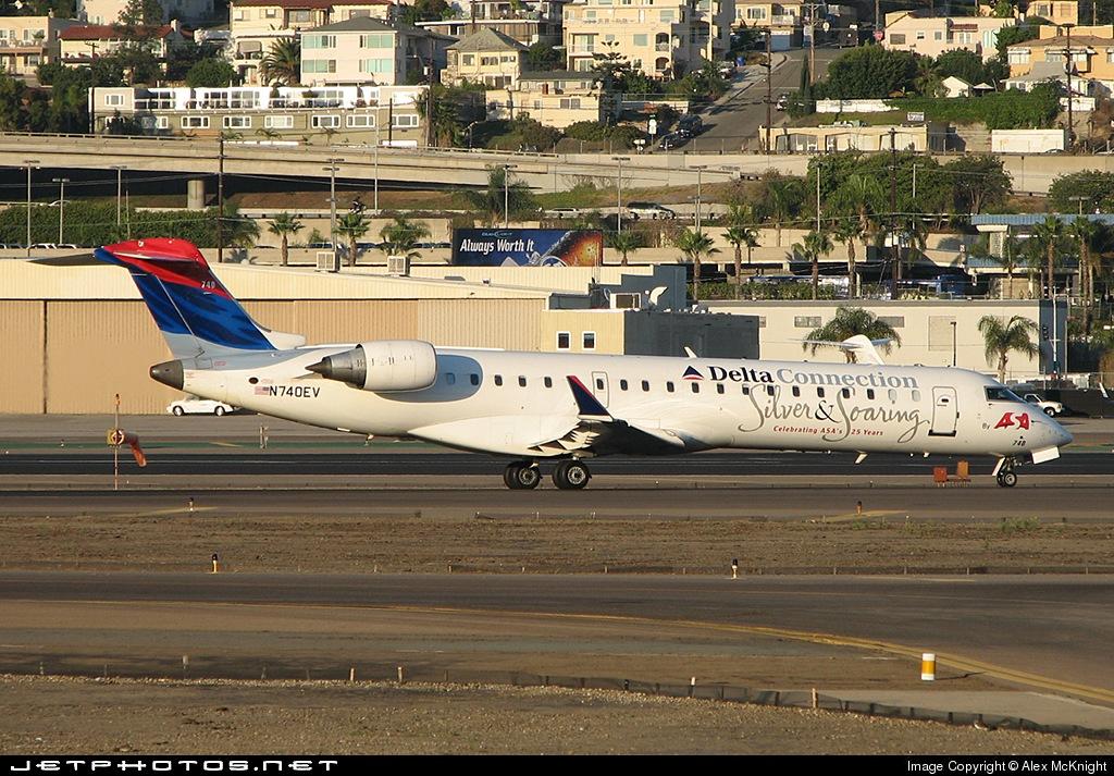 N740EV - Bombardier CRJ-701ER - Delta Connection (Atlantic Southeast Airlines)