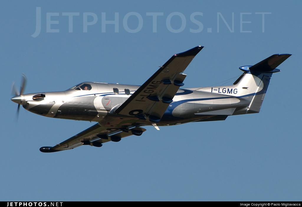 I-LGMG - Pilatus PC-12/47E - Private