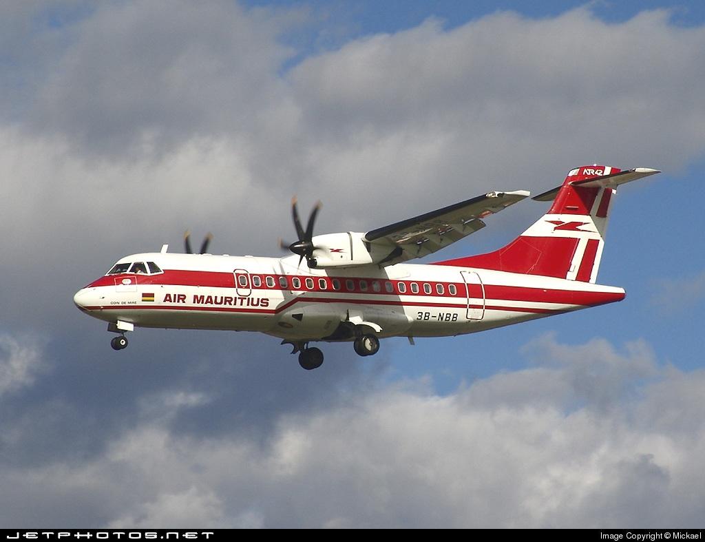 3B-NBB - ATR 42-500 - Air Mauritius