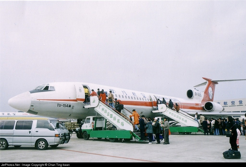 B-2626 - Tupolev Tu-154M - Sichuan Airlines
