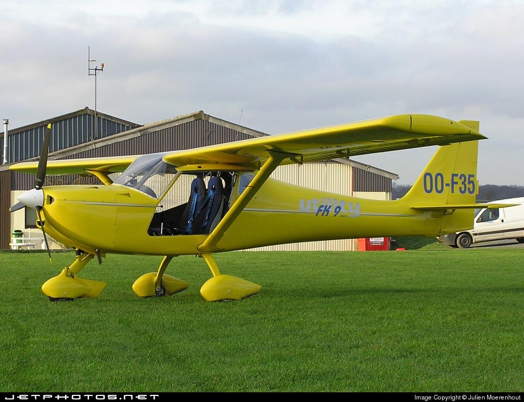 OO-F35 - B & F Technik FK-9 Mk.4 Utility - Private