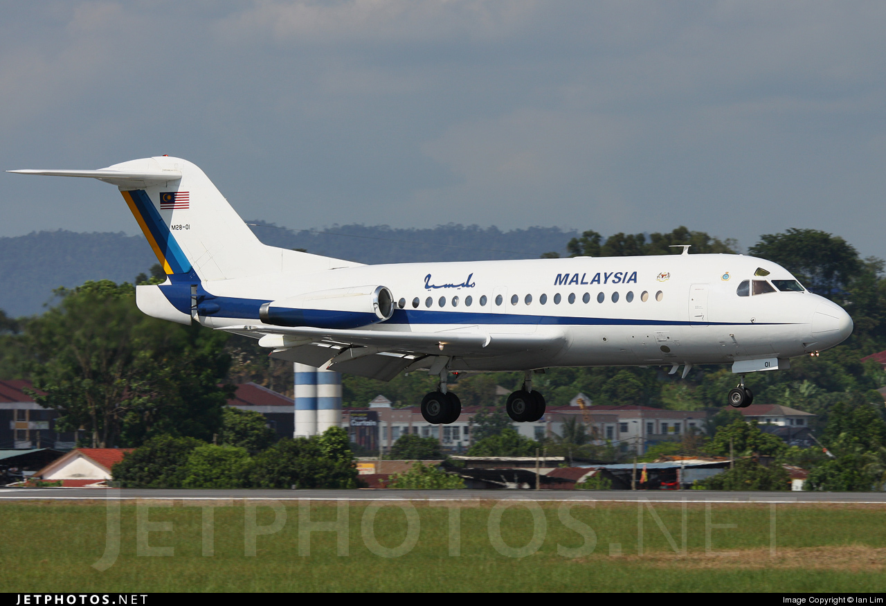 M28-01 | Fokker F28-1000 Fellowship | Malaysia - Air Force ...