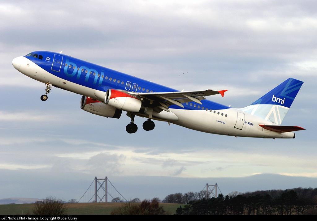 G-MIDS - Airbus A320-232 - bmi British Midland International