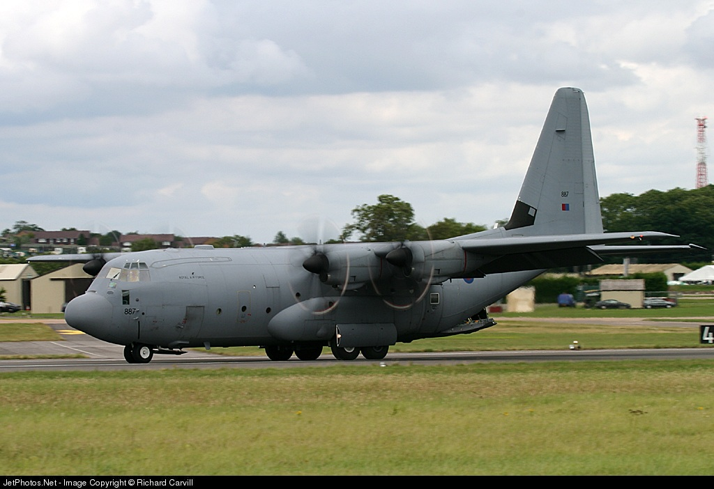 ZH887 - Lockheed Martin Hercules C.5 - United Kingdom - Royal Air Force (RAF)