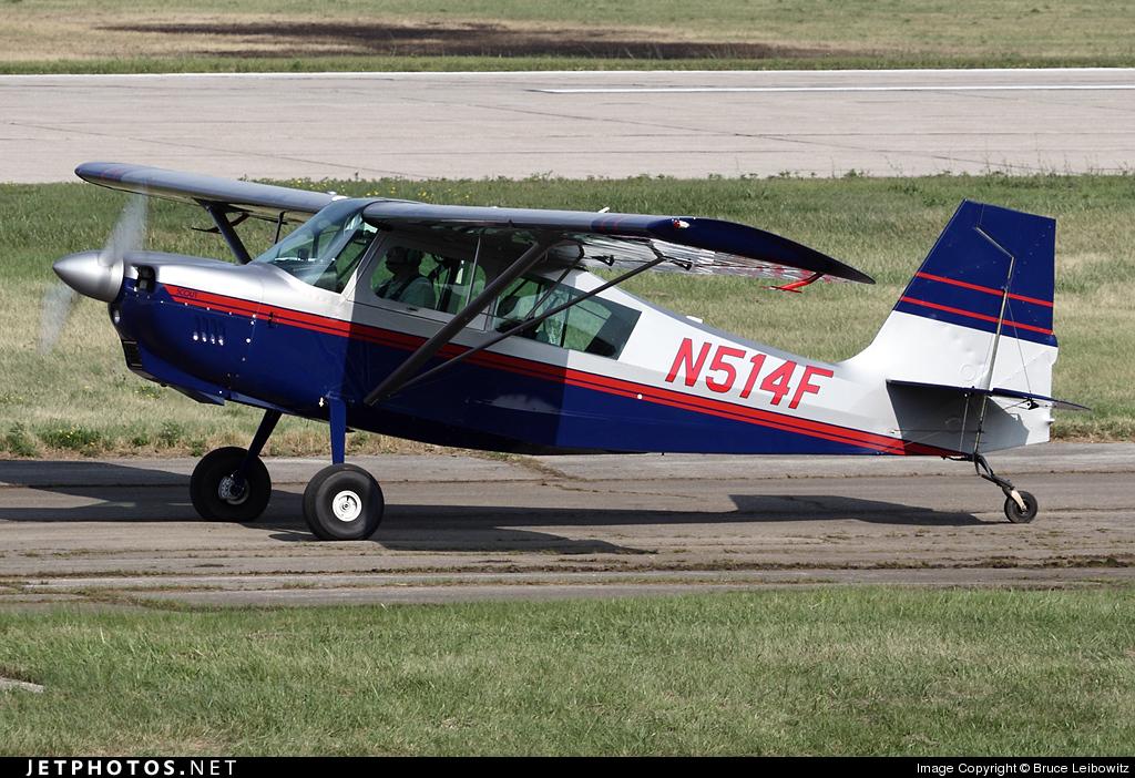 N514F - American Champion 8GCBC Scout - Private