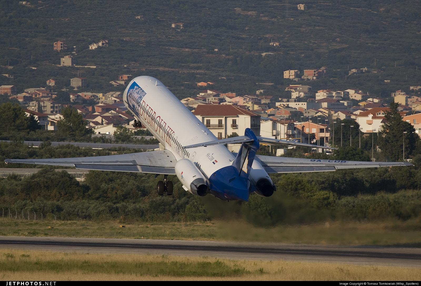 9A-CDB - McDonnell Douglas MD-83 - Dubrovnik Airline