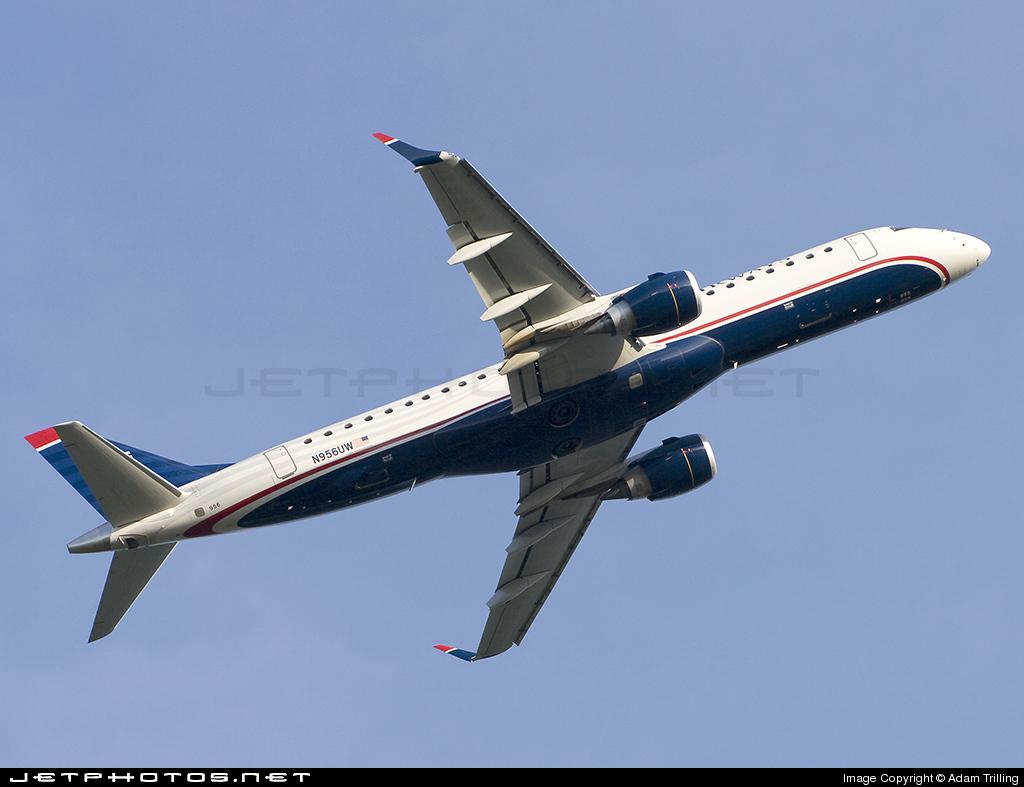 N956UW - Embraer 190-100IGW - US Airways