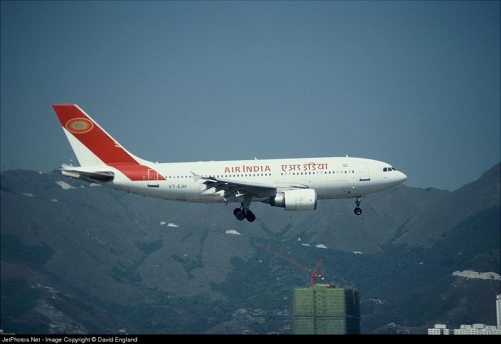VT-EJH - Airbus A310-304 - Air India