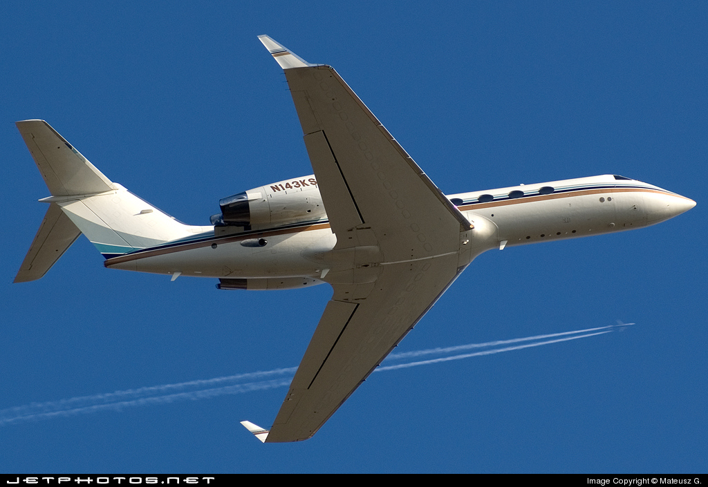 N143KS - Gulfstream G-IV(SP) - Private