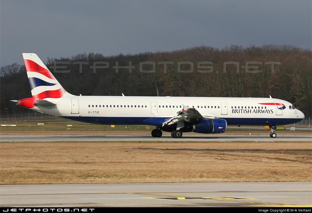 G-TTIE - Airbus A321-231 - British Airways (GB Airways)