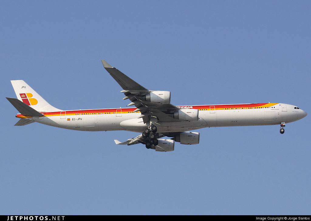 EC-JPU - Airbus A340-642 - Iberia