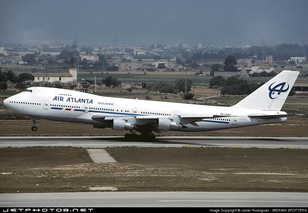 TF-ABQ - Boeing 747-246B - Air Atlanta Icelandic