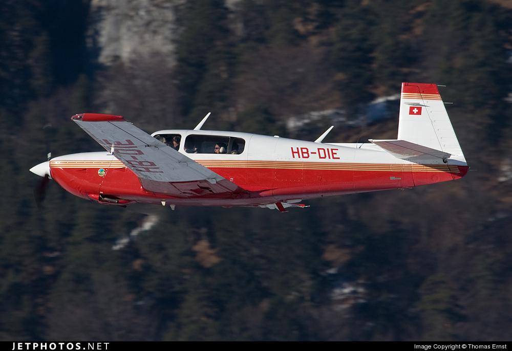 HB-DIE - Mooney M20R Ovation - Motorfluggruppe Chur