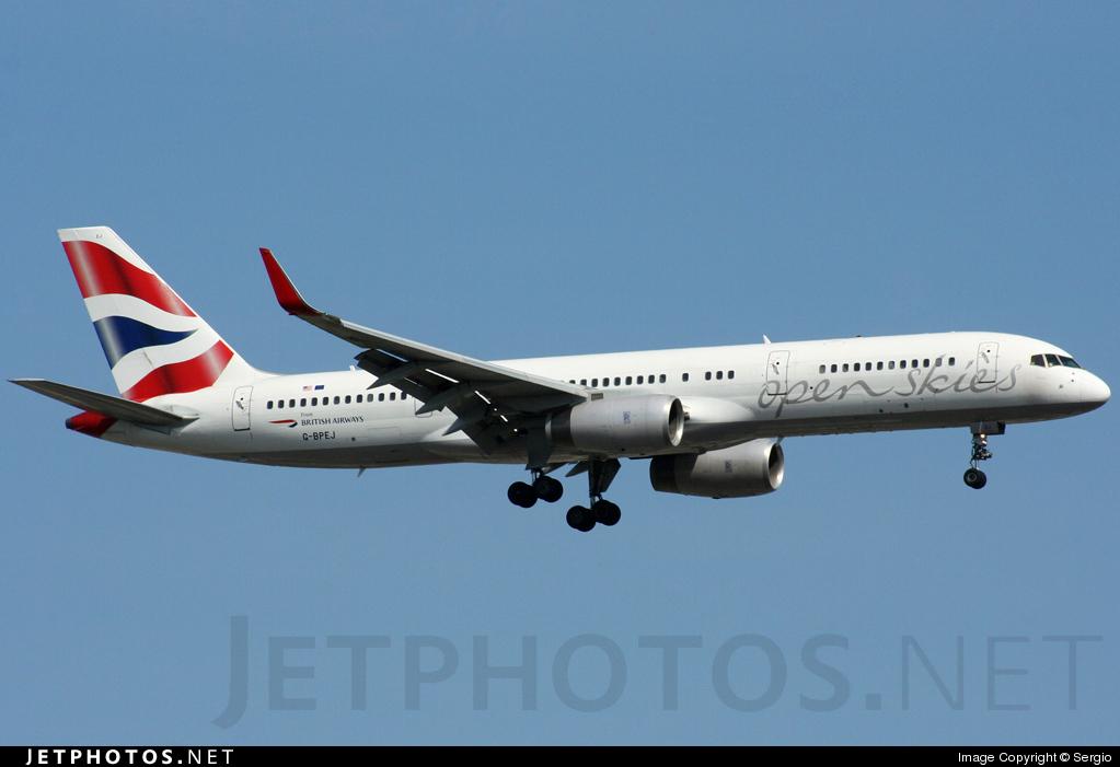 G-BPEJ - Boeing 757-236 - Open Skies (British Airways)