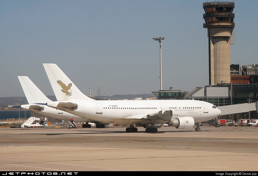 F-GEMO - Airbus A310-304 - Eagle Aviation