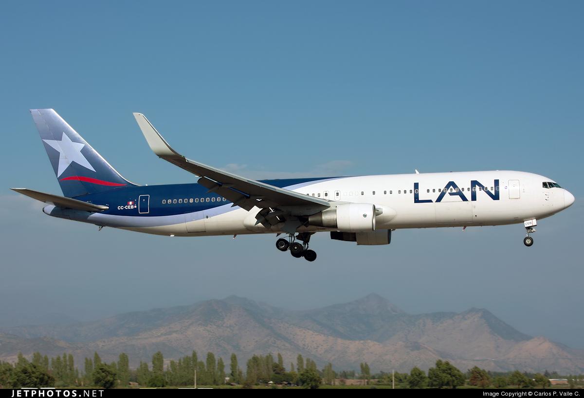 CC-CEB - Boeing 767-316(ER) - LAN Airlines