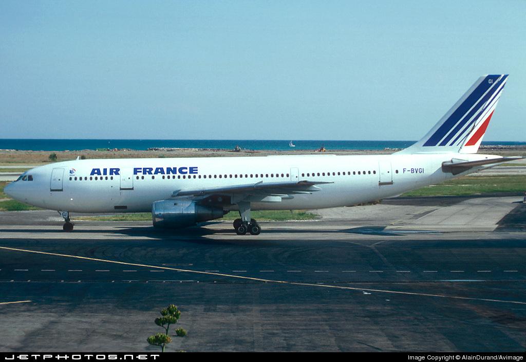 F-BVGI - Airbus A300B4-203 - Air France
