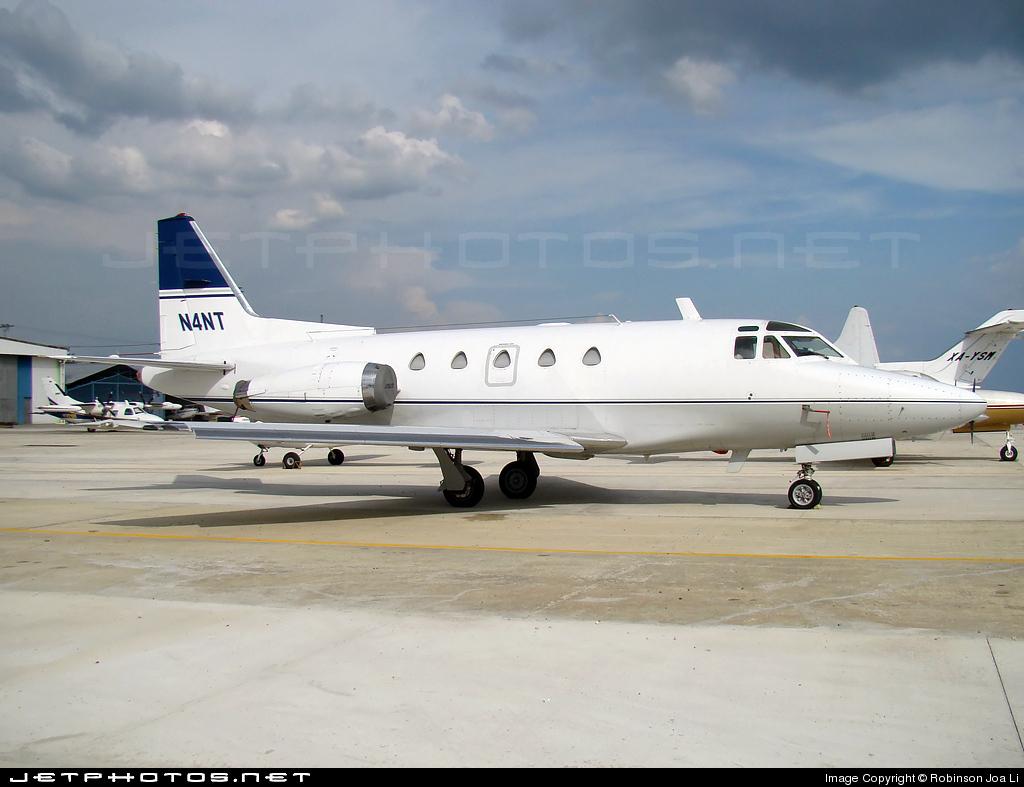 N4NT - North American Sabreliner 60A - Private