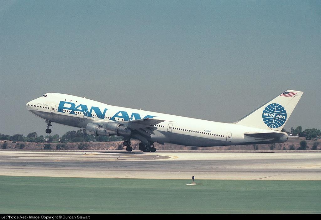 N659PA - Boeing 747-121 - Pan Am