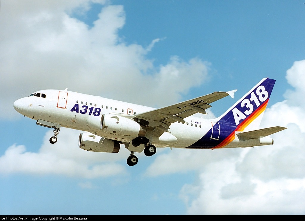 F-WWIB - Airbus A318-122 - Airbus Industrie