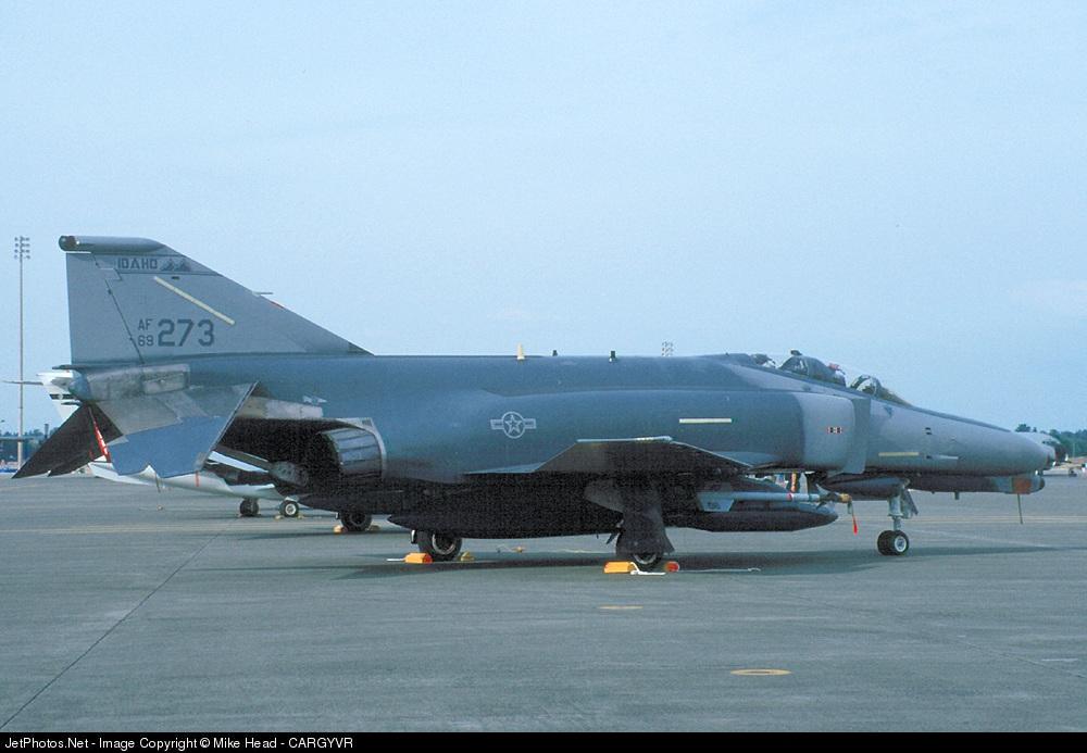 69-0273 - McDonnell Douglas F-4G Phantom II - United States - US Air Force (USAF)