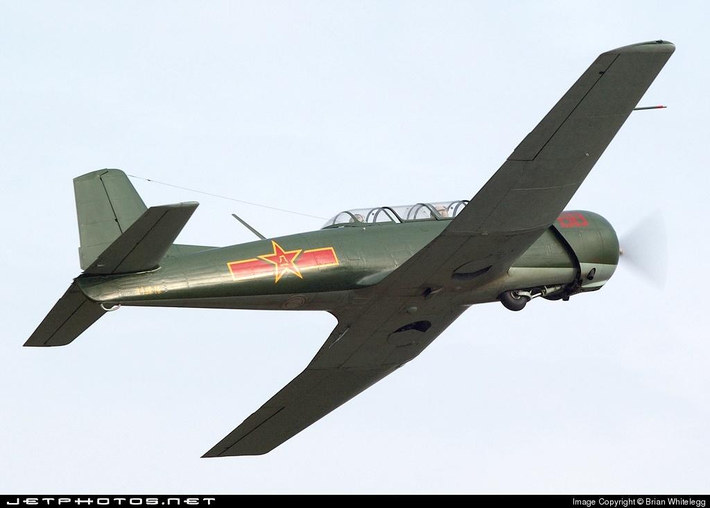 G-BVVG - Nanchang CJ-6A - Private
