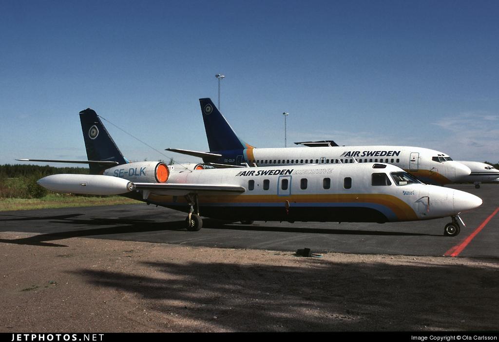 SE-DLK - IAI 1124 Westwind - Time Air Sweden
