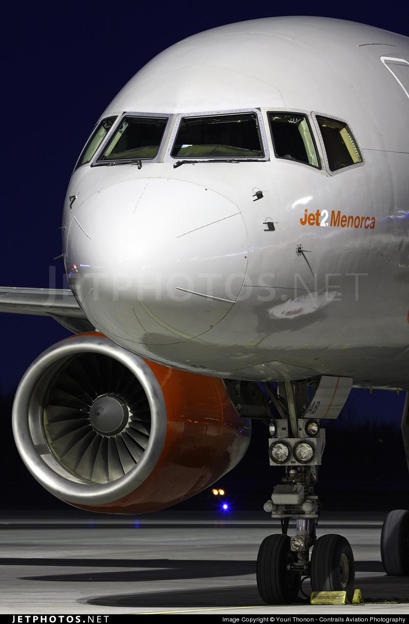 G-LSAB - Boeing 757-27B - Jet2.com