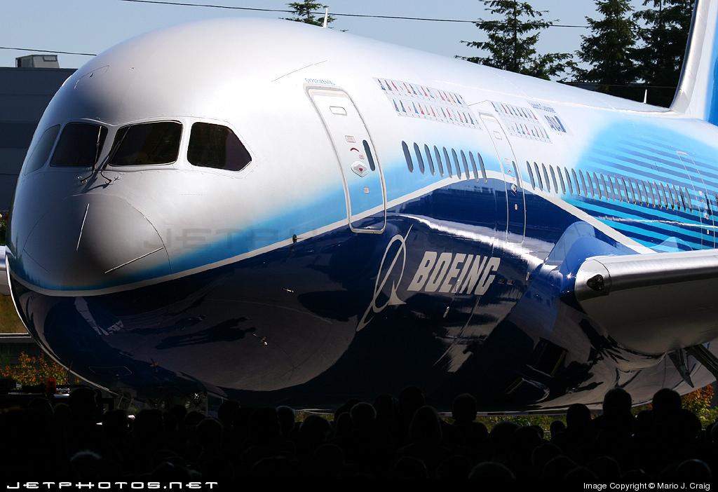 N787BA - Boeing 787-8 Dreamliner - Boeing Company