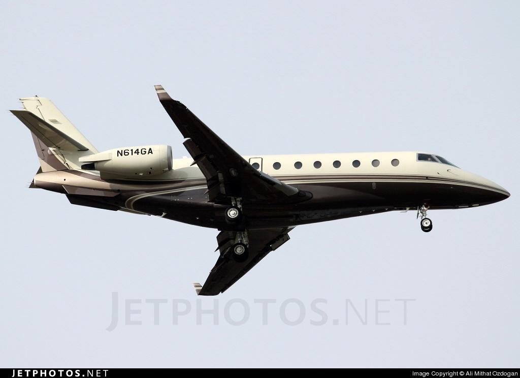 N614GA - Gulfstream G200 - Private