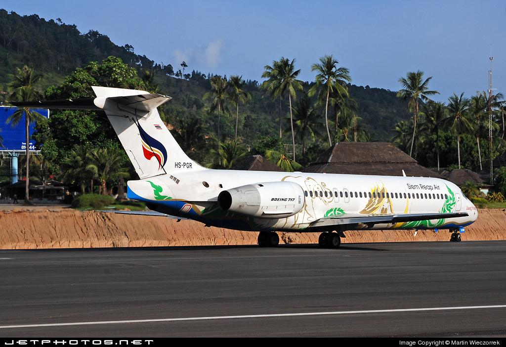 HS-PGR - Boeing 717-231 - Bangkok Airways
