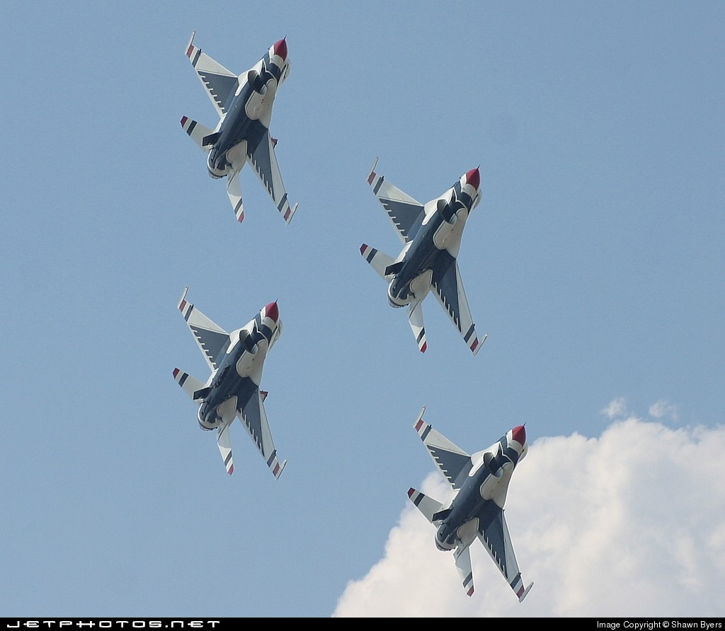 - Lockheed Martin F-16C Fighting Falcon - United States - US Air Force (USAF)