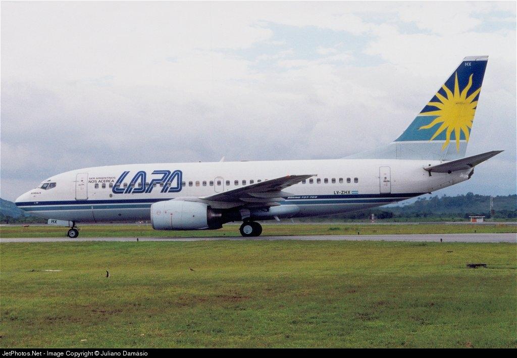 LV-ZHX - Boeing 737-76N - LAPA - Líneas Aéreas Privadas Argentinas